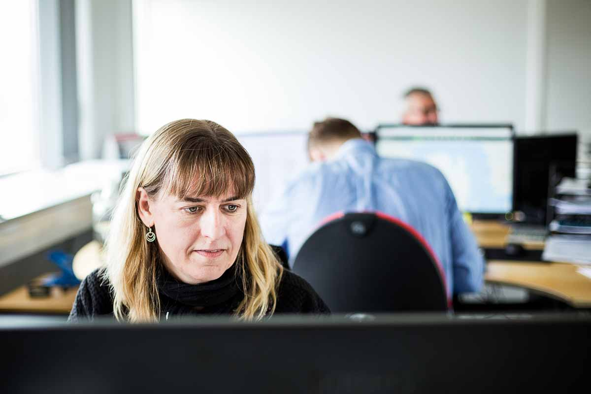 kontor arbejde esbjerg Ø